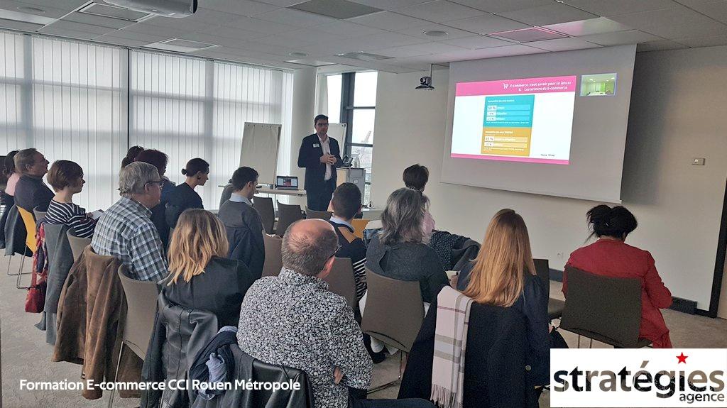 Formation E-commerce CCI Rouen Metropole
