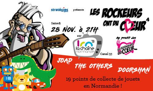 Les Rockeurs ont du Coeur Rouen Normandie Les Restos du Coeur