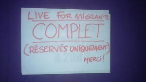 Live for Migrants Rouen 2016 action solidaire