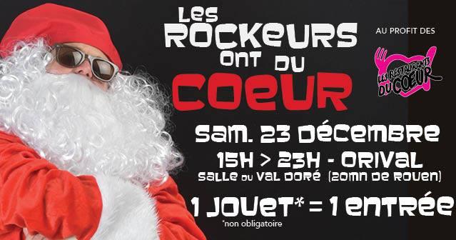 les Rockeurs ont du Coeur 2016 à Rouen