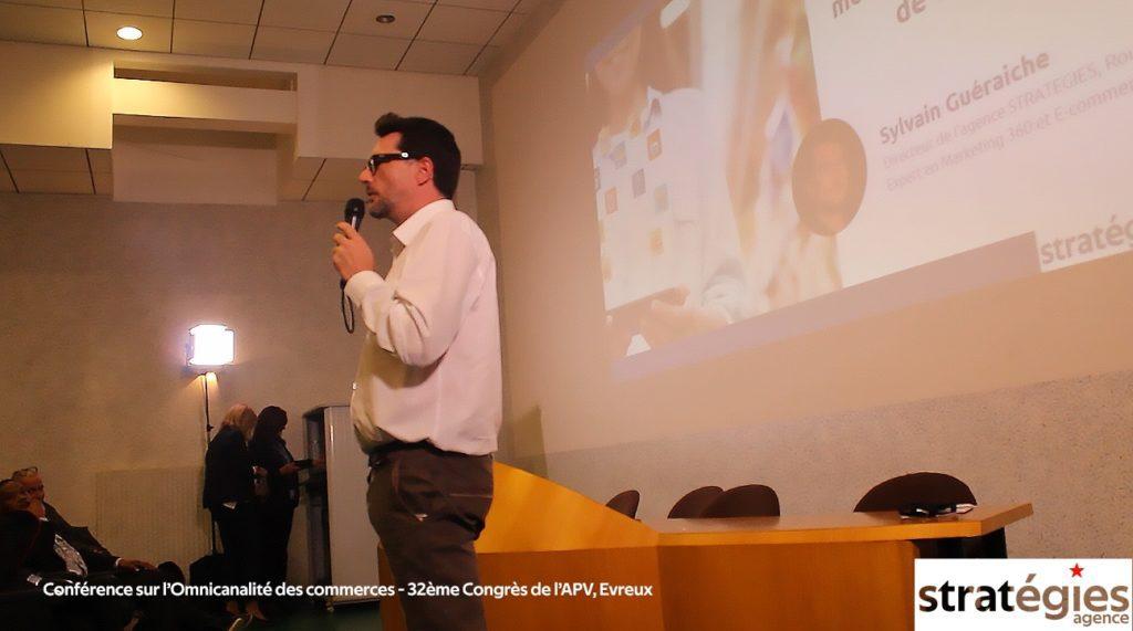 Conférence-sur-l'Omnicanalité-des-commerces-32ème-Congrès-de-l'APV-Evreux agence stratégies rouen normandie marketing 360 creation de site e-commerce oxatis formation OPCO CPF
